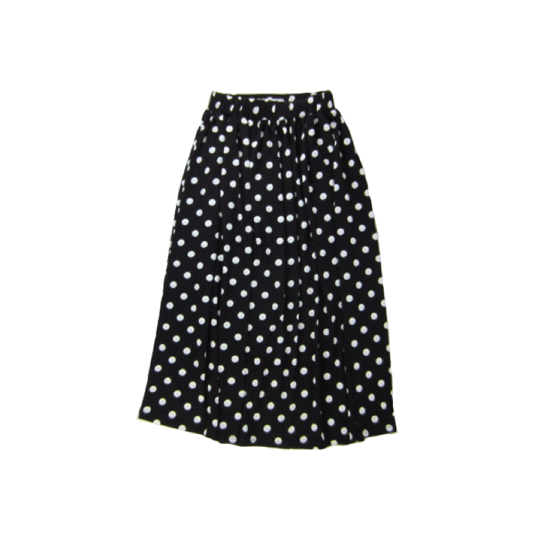 Girls Polkadot Maxi Skirt