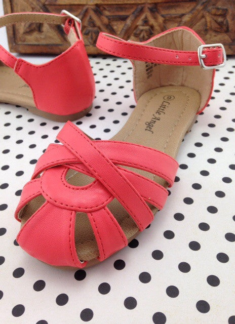 Girls Coral Sandals
