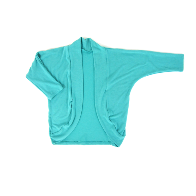 Girls Mint Cocoon Cardigan