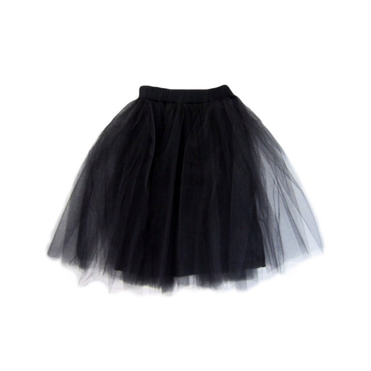Girls Black Tulle Skirt | Liberty Lark