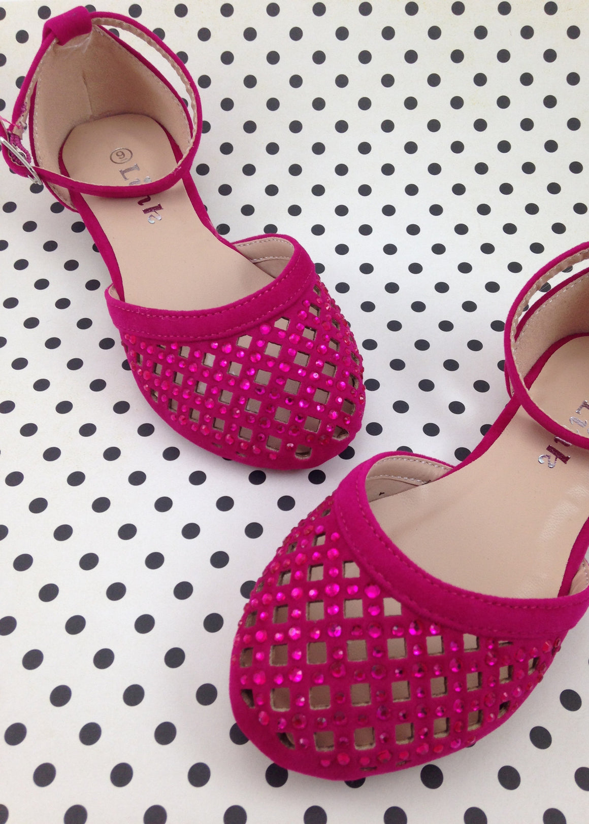 Girls Hot Pink Sandals