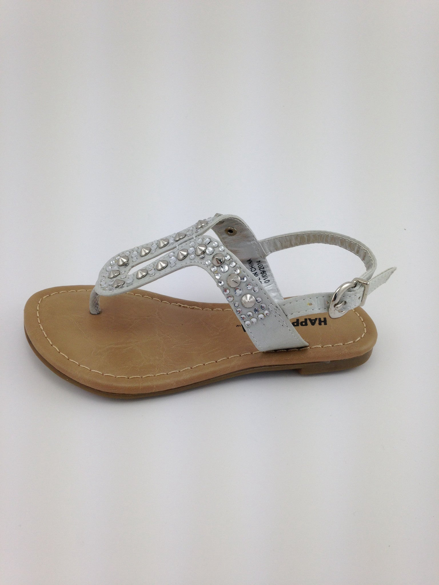 girls soles sandals c leather silver non outer and rubber p boys nonslip slip mvlviop