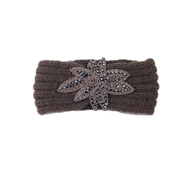 Taupe Knit Headband