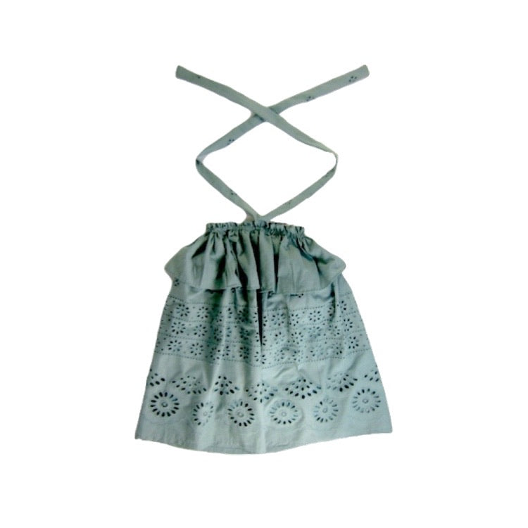 Girls Sage Halter Dress