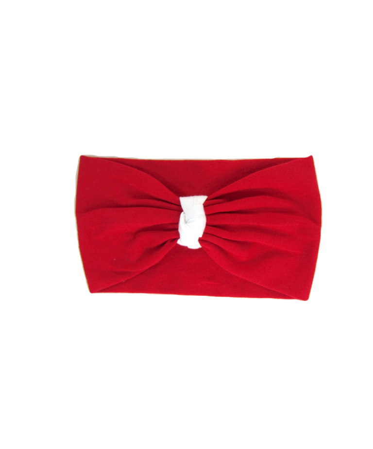 Red/White Headband