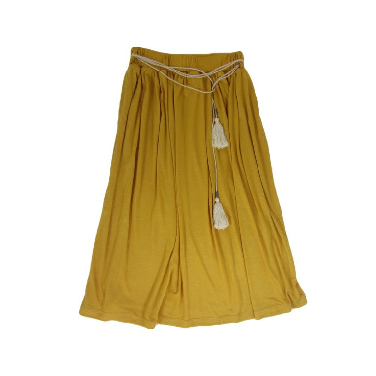 Girls Marigold Maxi Skirt