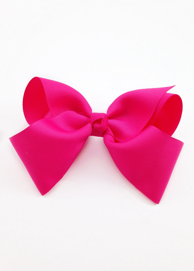 Hot Pink Hairbow