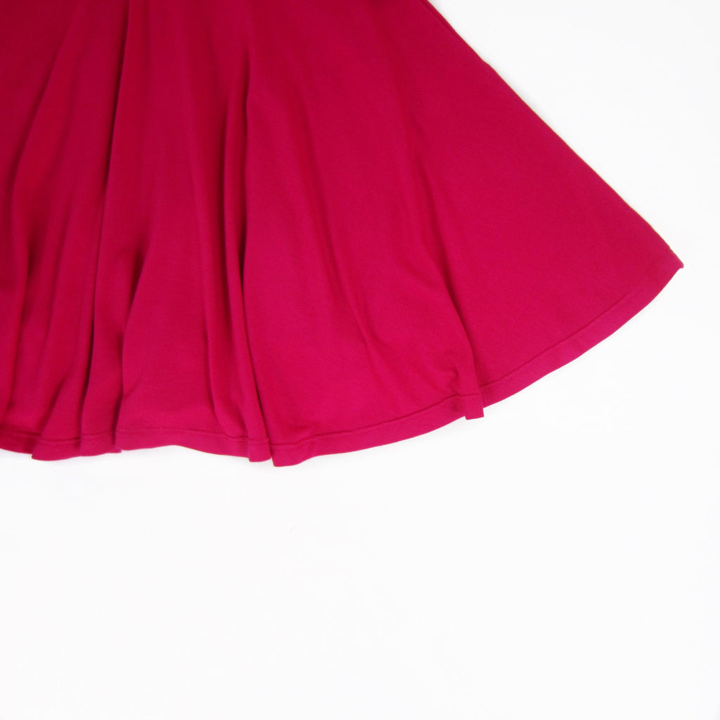Girls Hot Pink Twirl Dress