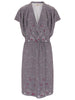 Charcoal Hampstead Wrap Front Dress - Nougat London - 2