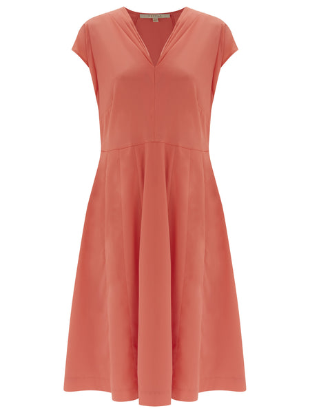 Islington Gathered Dress - Nougat London - 1