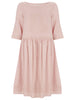 Nude Pink Poppy Linen Dress - Nougat London - 2