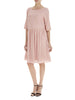 Nude Pink Poppy Linen Dress - Nougat London - 1