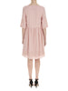 Nude Pink Poppy Linen Dress - Nougat London - 4