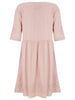 Nude Pink Poppy Linen Dress - Nougat London - 3
