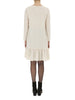 Oatmeal Pansie Frill Hem Dress - Nougat London - 4