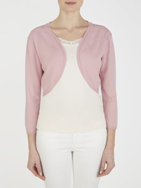 Nude Pink Mimosa Shrug