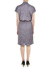 Charcoal Hampstead Wrap Front Dress - Nougat London - 4