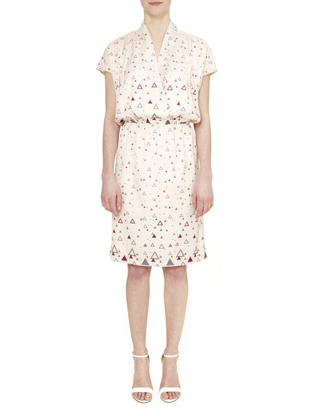 Ivory Hampstead Wrap Front Dress - Nougat London - 1