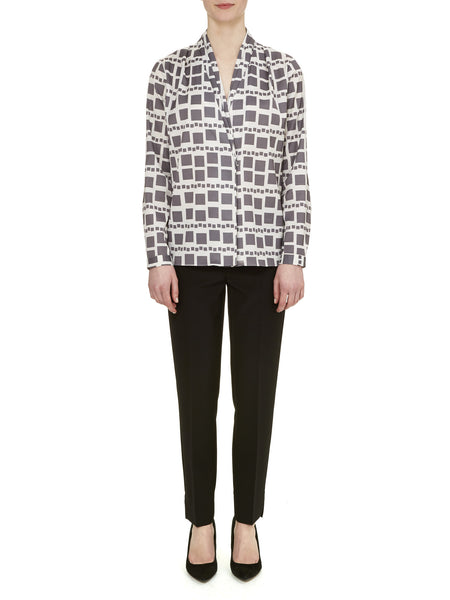 Charcoal Richmond Blouse - Nougat London - 1