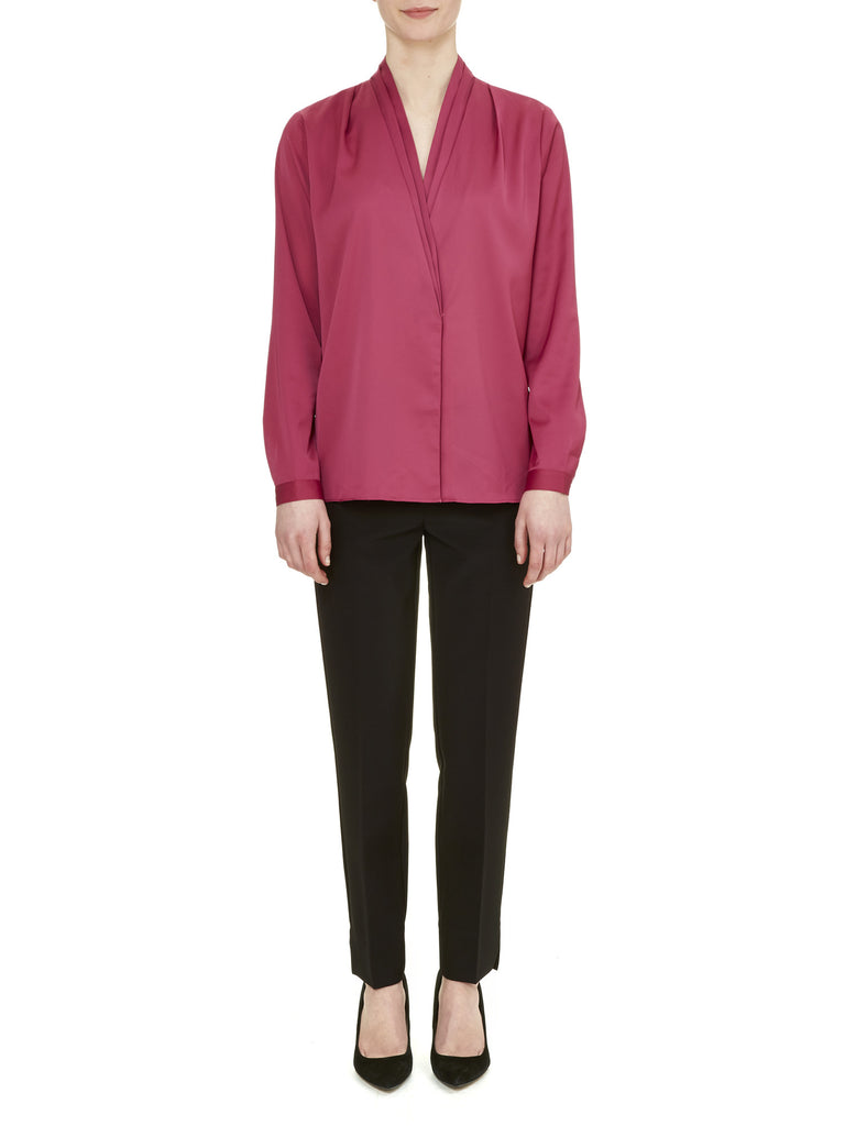 Raspberry Richmond Blouse - Nougat London - 1