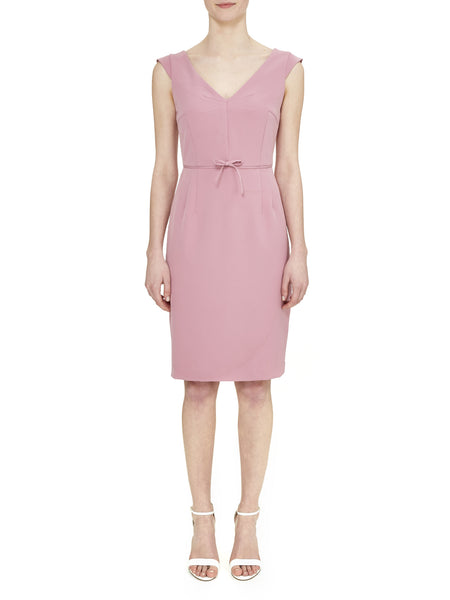Dusty Pink Cap Sleeve Dress - Nougat London - 1