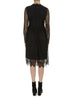 Black Primrose Lace Dress - Nougat London - 4
