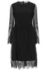 Black Primrose Lace Dress - Nougat London - 3