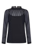 Black Olea Blouse