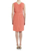 Coral Silk Embellished Dress - Nougat London - 4