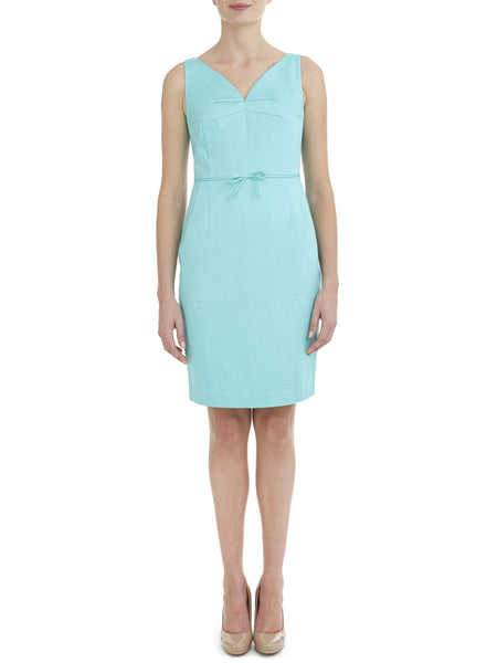 Jade V Neck Stretch Dress - Nougat London - 1