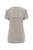 Pale Grey Daisy Lace T-Shirt - Nougat London - 4