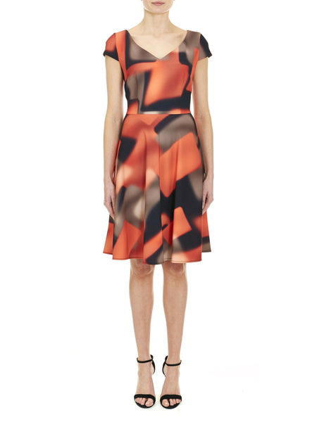 Fulham Printed Dress - Nougat London - 1