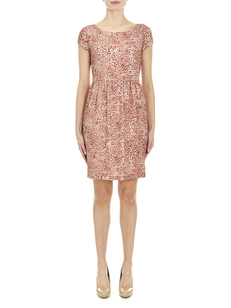 Shoreditch Printed Dress - Nougat London - 1