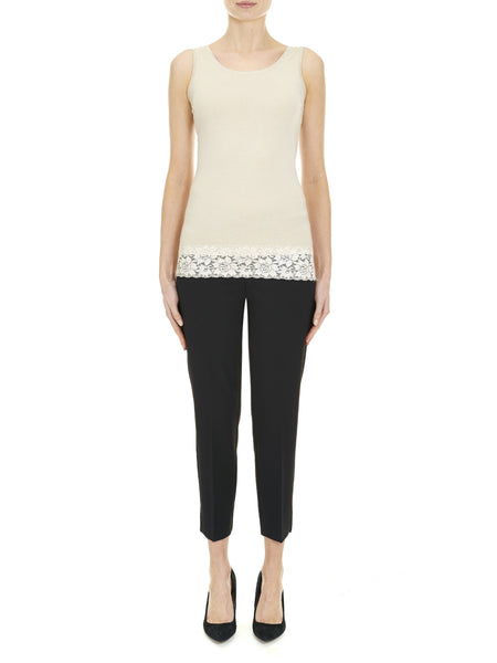 Stone Holloway Vest Top - Nougat London - 1