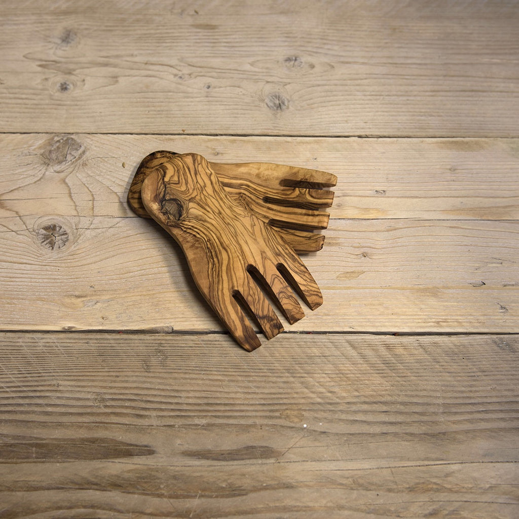 Olive wood salad hands - Be Natural Products