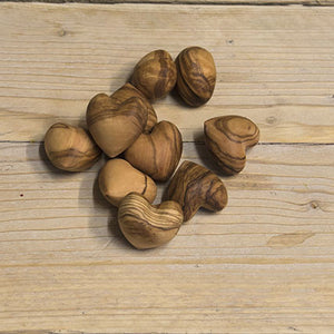 Olive wood Heart - Be Natural Products