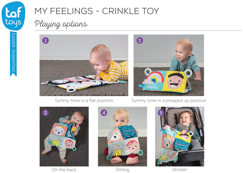Taf Toys My Feelings Crinkle Toy