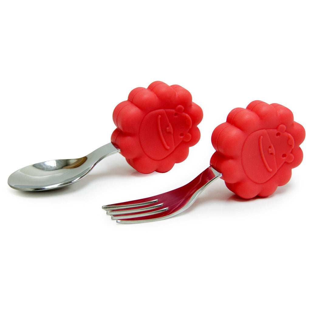 Marcus & Marcus Palm Grasp Spoon & Fork Set