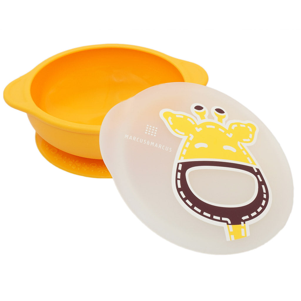 Marcus & Marcus Suction Bowl with Lid - Lola