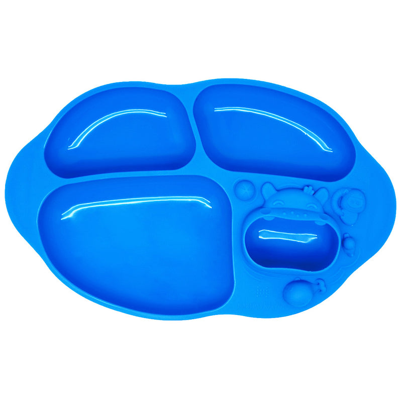 Marcus & Marcus Yummy Dips Suction Divided Plate