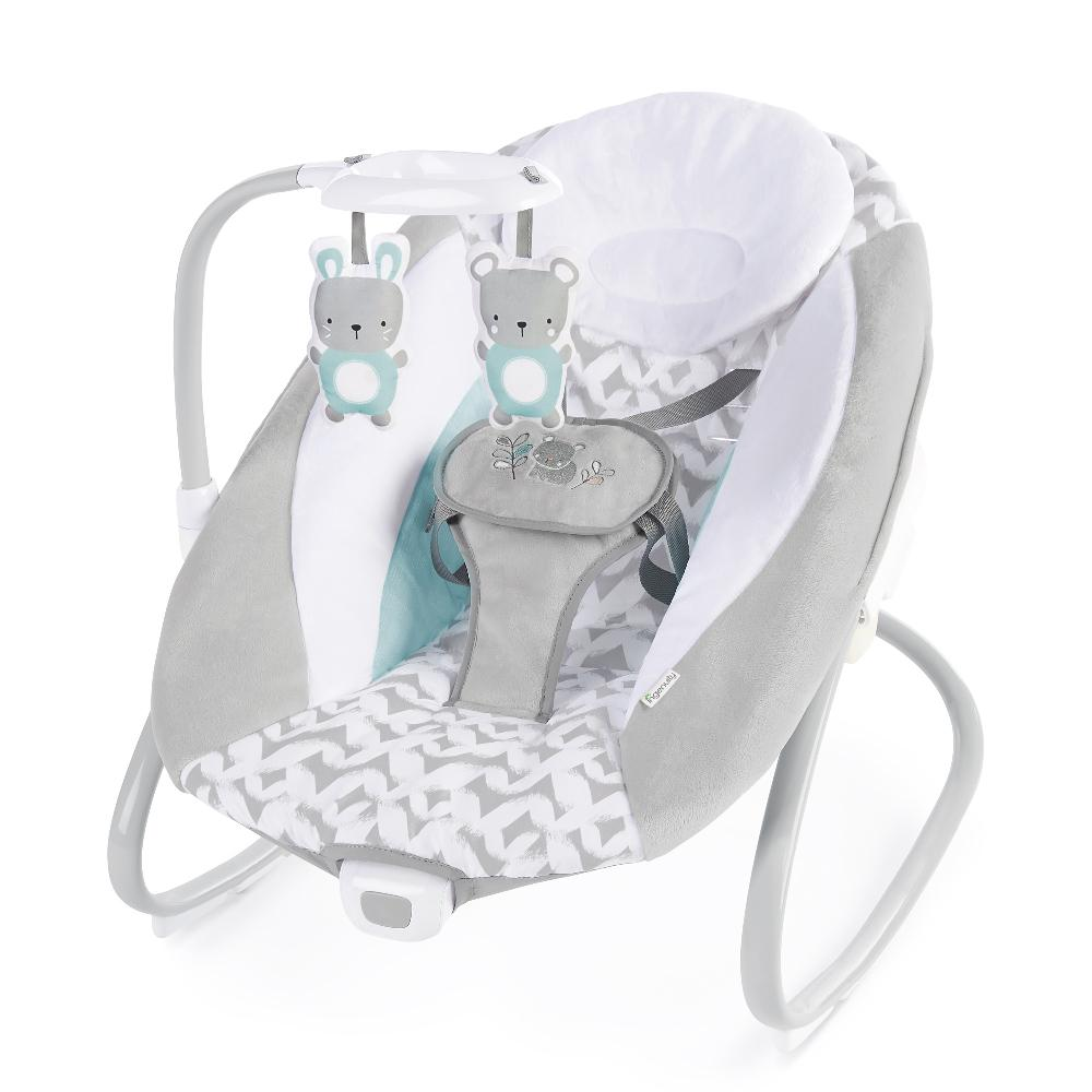 Ingenuity BS11791 Swing Simple Comfort Cradling Swing & Rocker - Raylan