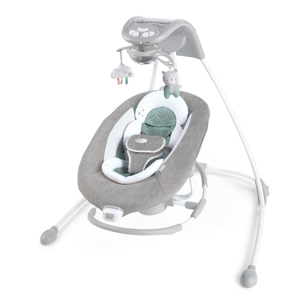 Ingenuity BS12321 Swing DreamComfort InLighten Cradling Swing & Rocker - Pemberton P