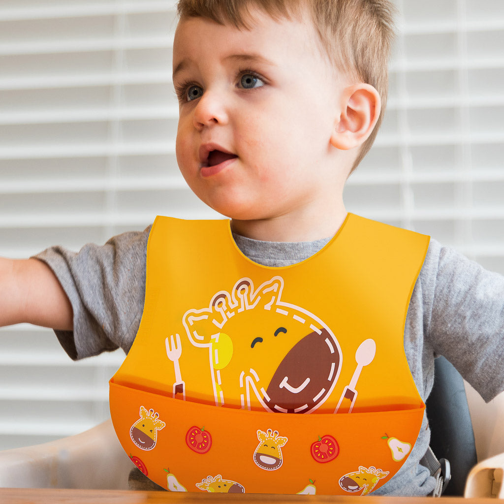Marcus & Marcus Wide Coverage Silicone Bib