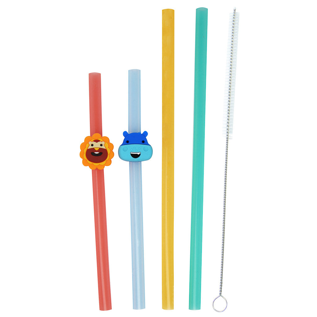 Marcus & Marcus Reusable Straws Family Set