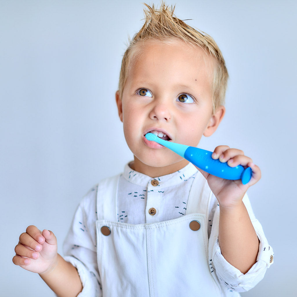 Marcus & Marcus Reusable Toddler Silicone Toothbrush