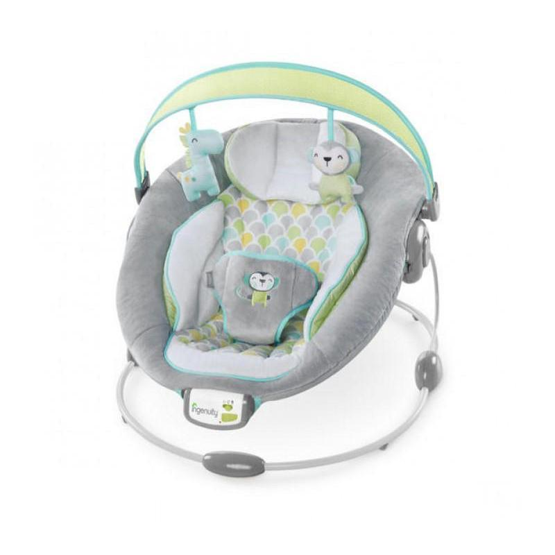 Ingenuity Bouncer Soothe n Delight Bouncer - Savvy Safari BS60389 P