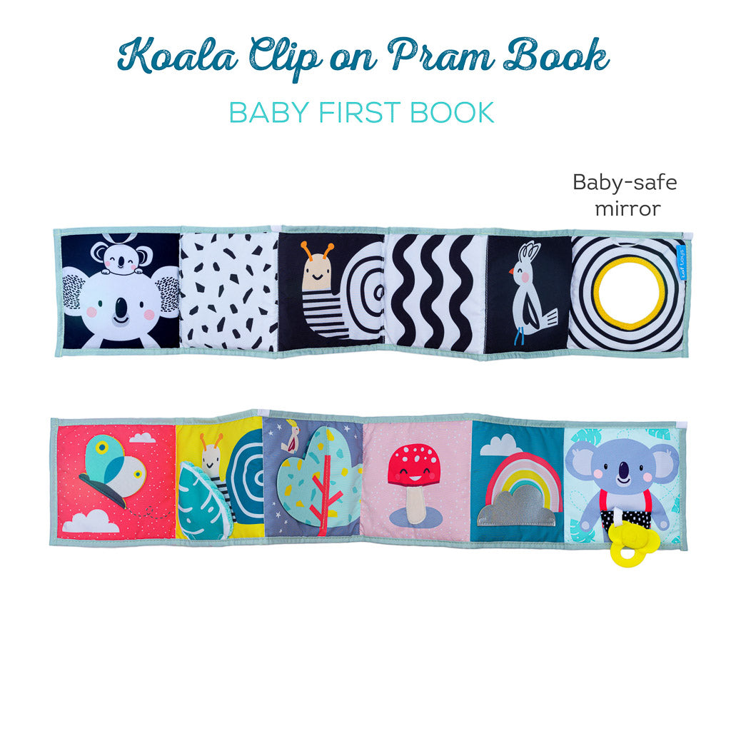 Taf Toys Koala Clip on Pram Book