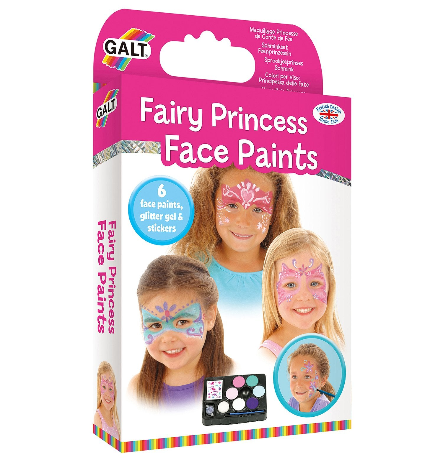 Fairy Princess Face Paints - Galt