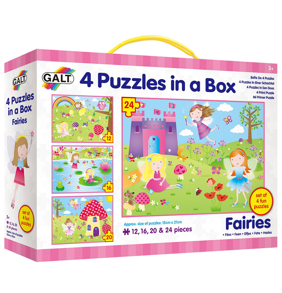 4 Puzzles in a Box - Galt
