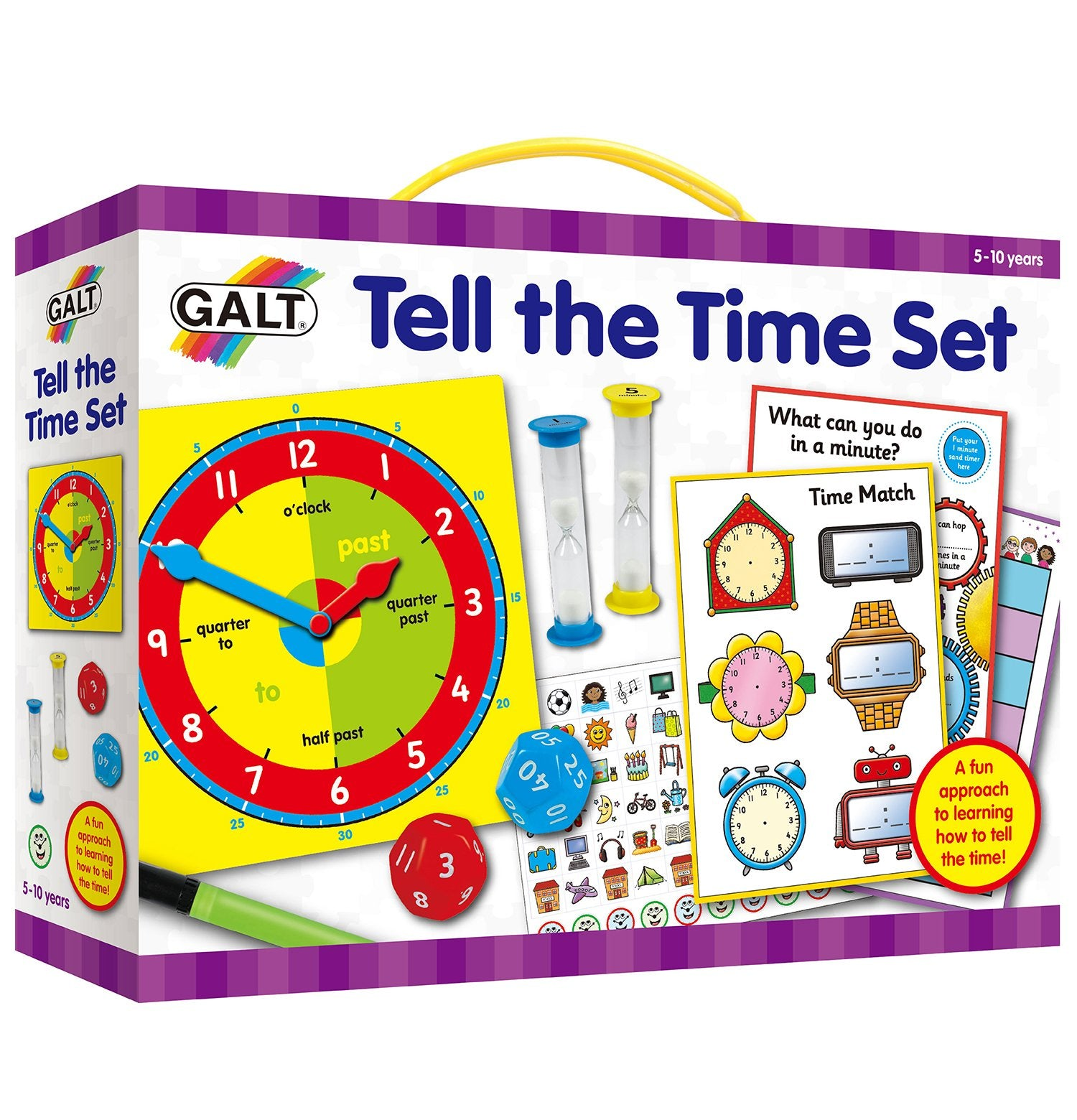Tell the Time Set - Galt